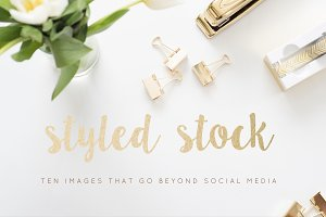 Styled Stock Photos | Gold Images