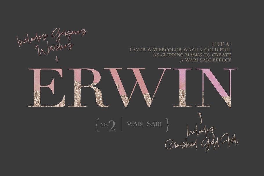 Ora Erwin : Signature Font Duo