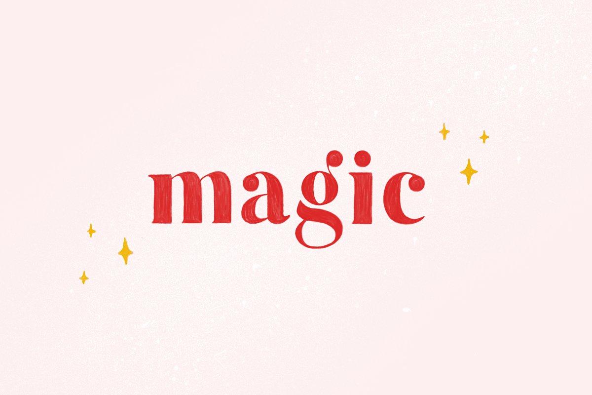 Magic - Colour SVG Font + Extra