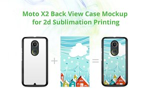 Moto X2 2d Case Design Mock-up