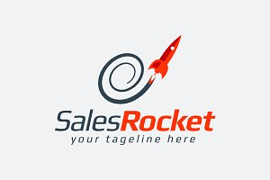 Sales Rocket Logo