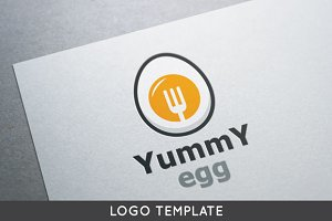 Yummy Egg Logo