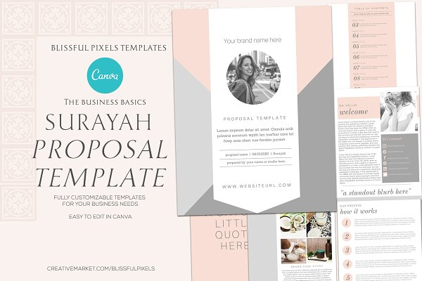 Surayah - Business Proposal Template