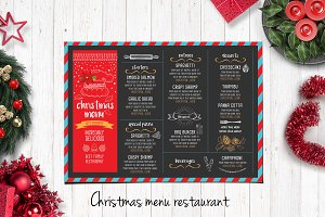 Food menu, restaurant flyer #17