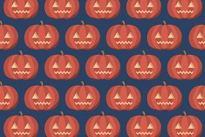 jack-o-lantern background vector