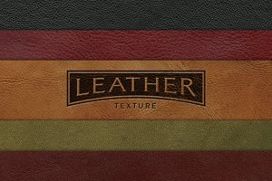 Leather Texture - 5 Pack
