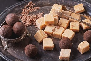 Creamy Fudge candies
