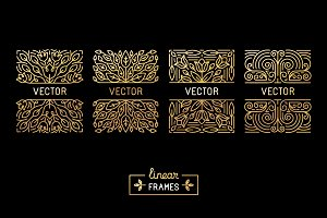 Golden Linear Frames