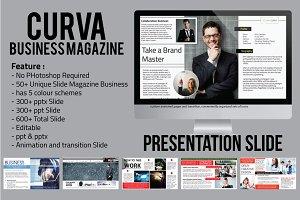 Curva Business Magazine Presentation