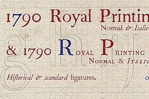 1790 Royal Printing OTF