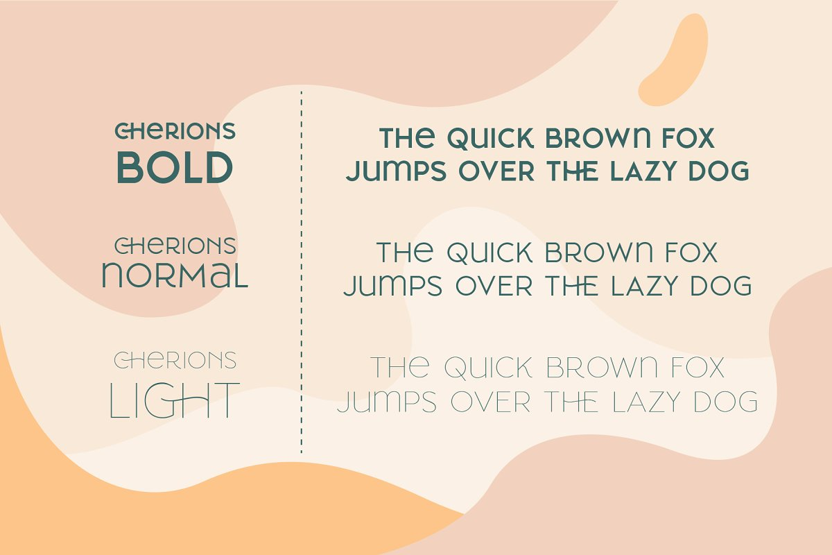 Cherione in Display Fonts - product preview 4