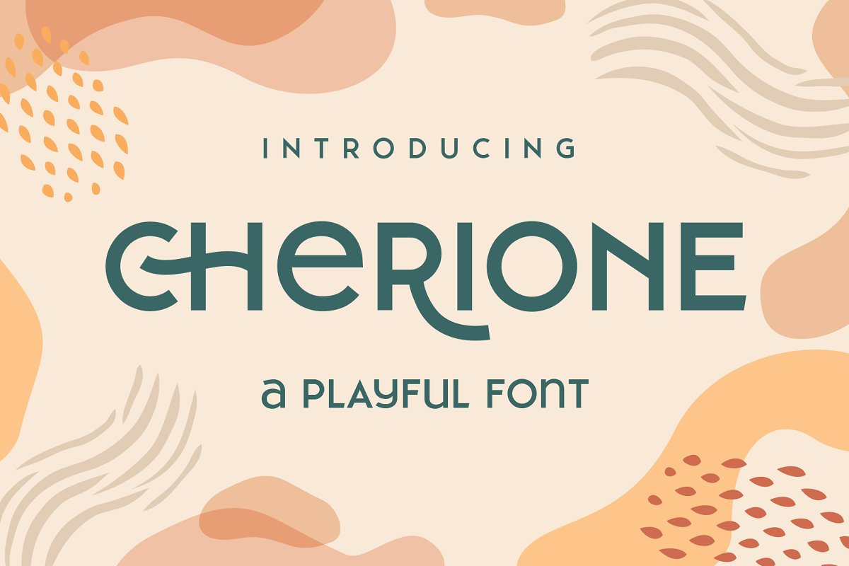 Cherione in Display Fonts - product preview 11