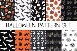 Halloween pattern sets