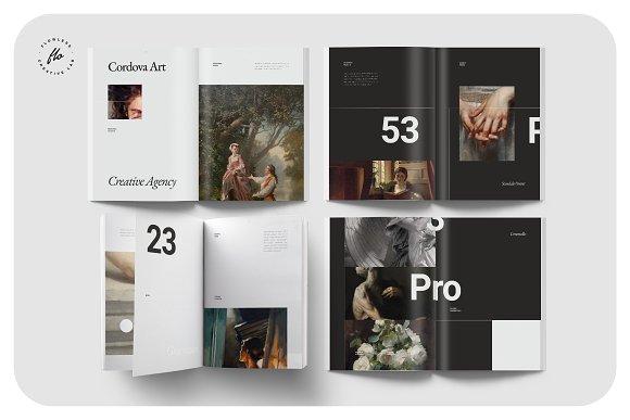 ORIENT Artist Portfolio in Magazine Templates - product preview 1
