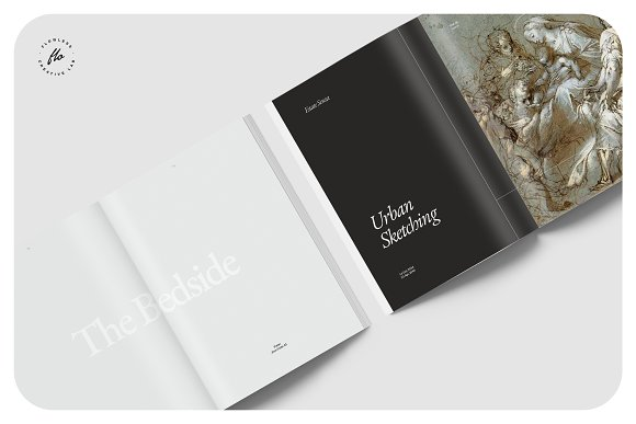 ORIENT Artist Portfolio in Magazine Templates - product preview 2