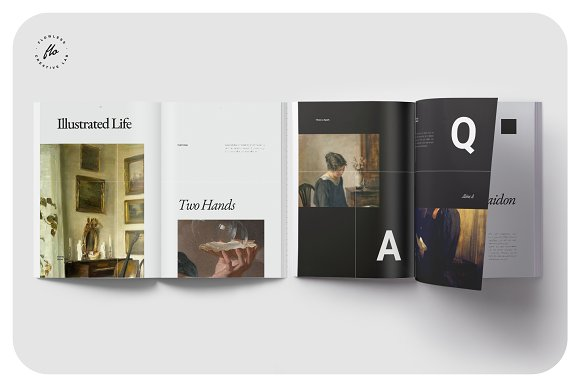 ORIENT Artist Portfolio in Magazine Templates - product preview 3