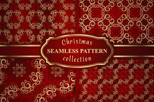 Christmas seamless patterns vol.2