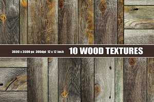 Old Dark Distressed Wood Textures