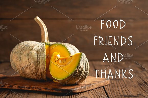 Thanksgiving Font and Graphics Pack in Display Fonts - product preview 2