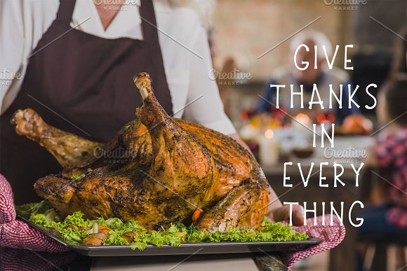 Thanksgiving Font and Graphics Pack in Display Fonts - product preview 6