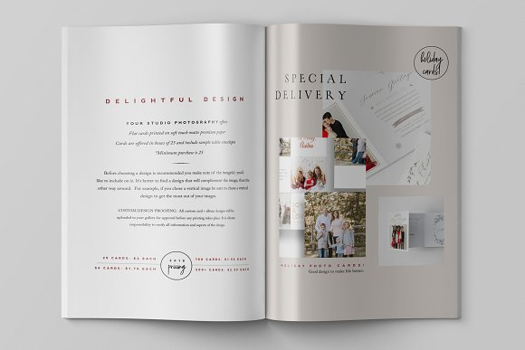 Product Catalog Template PSD in Magazine Templates - product preview 1