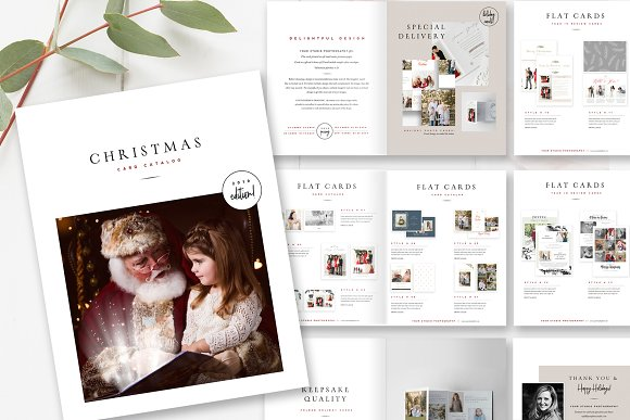 Product Catalog Template PSD in Magazine Templates - product preview 3