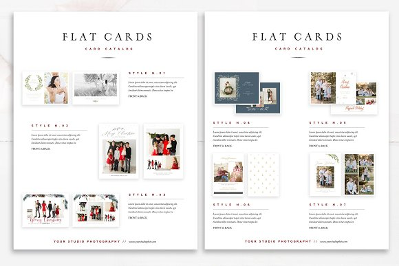 Product Catalog Template PSD in Magazine Templates - product preview 6