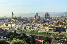 Panoramic view of Florence. Italy