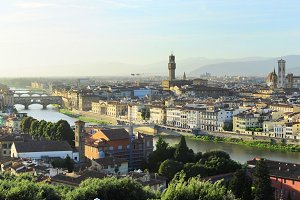 View of Florence city. Italy