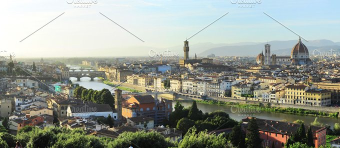 View of Florence city. Italy - Architecture