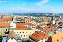 Brno skyline, Czech Republic