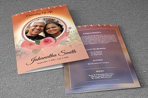 Funeral Program Template-V203