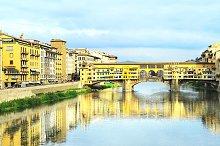 Ponte Vecchio bridge. Florence,Italy