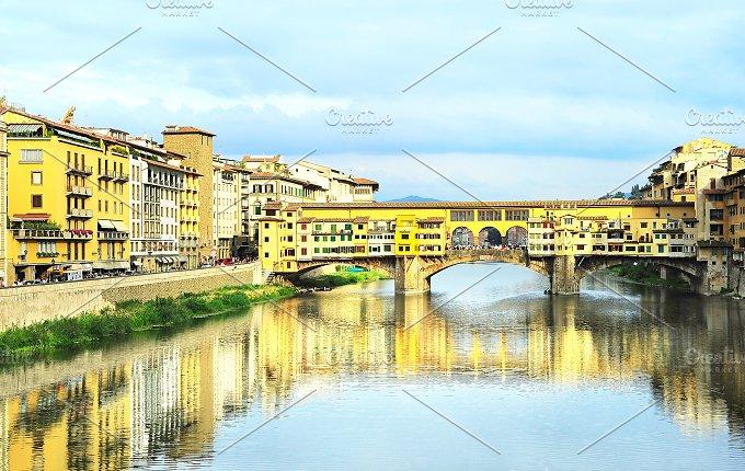 Ponte Vecchio bridge. Florence,Italy - Architecture