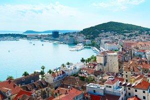 View of Split Old Town, Croatia