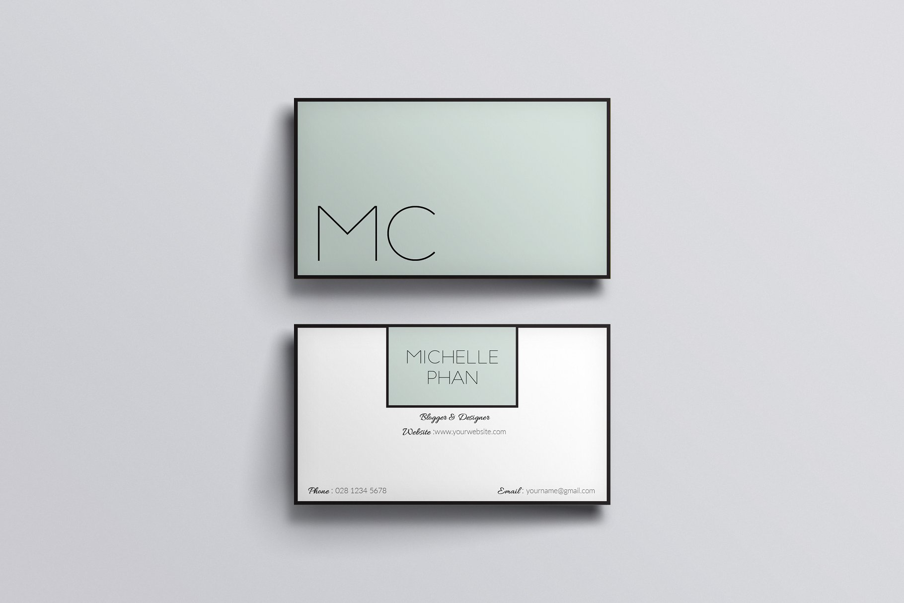 Elegant business card template - Business Card Templates | Creative ...