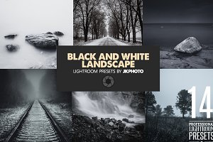 14 Black And White Landscape