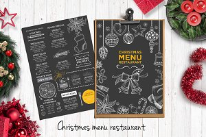 Food menu, restaurant flyer #18