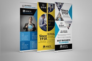 3 Roll-up Banners Bundle