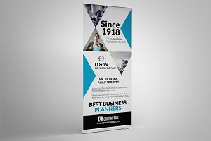Business Roll Up Banner Template