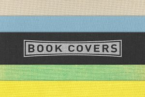 Cloth Book Cover Textures - 5 Pack