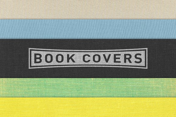 Reusable Fabric Book Cover : Cloth book cover textures pack on creative