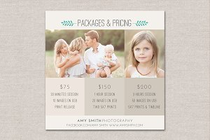 Flyer Photography Pricing Guide