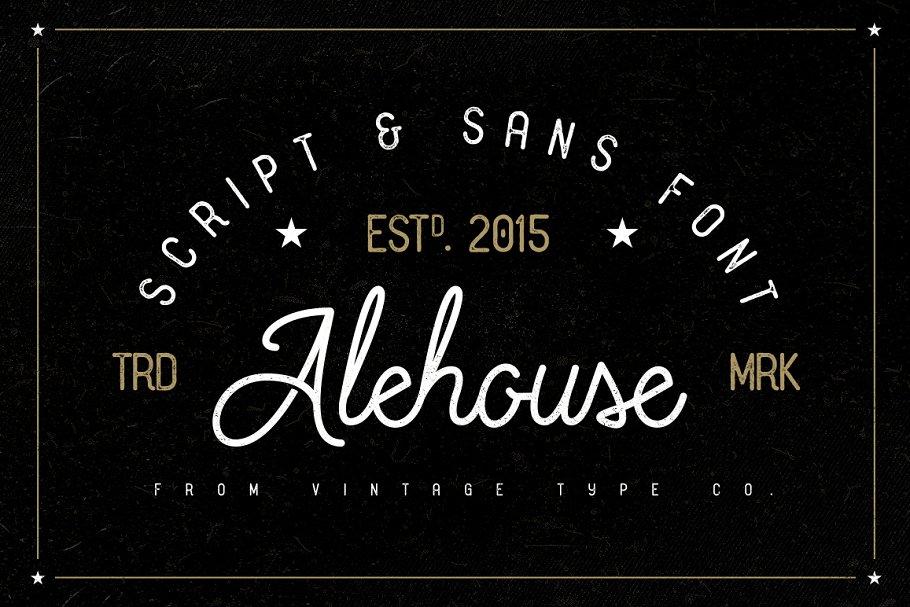 Alehouse Combo Font