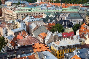 Old Riga city, Latvia