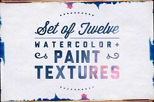 Watercolor & Paint Textures Pack