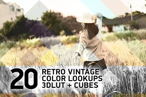 20 Retro Vintage ColorLookUps