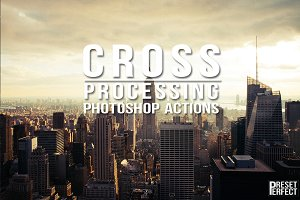 Cross Process Photoshop Actions