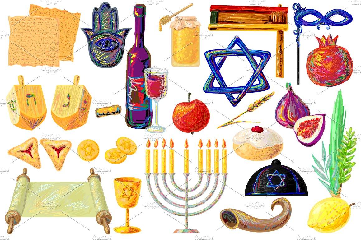 Jewish Photos Graphics Fonts Themes Templates Creative Market