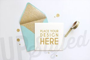 A154 Styled Stationery Photo Mock Up